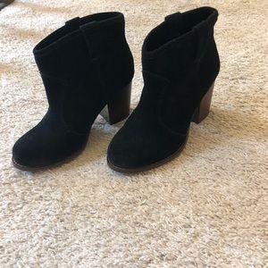 Splendid black ankle booties size 6